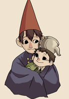 Over the Garden Wall by mayday-daywalker