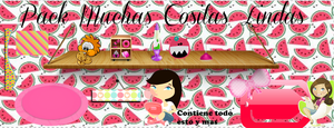 Pack Muchas Cositas Lindas by EugeeTinistaForever