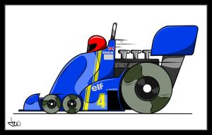 Tyrrell P34 by AndreiB