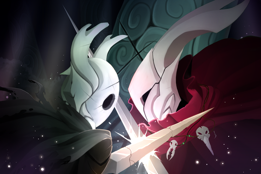 Hollow knight by TimeLordJikan