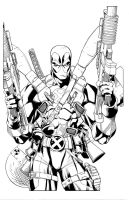 Deadpool fully loaded by antalas