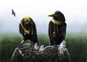 The gold of the rooks by Isdrake