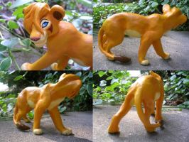 Viwi's Lion Sculpture Commish by WildSpiritWolf