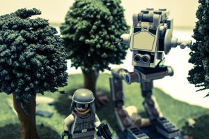 Lego AT-ST by Everdreamz