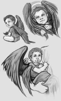 Baby Angels by KanaRae