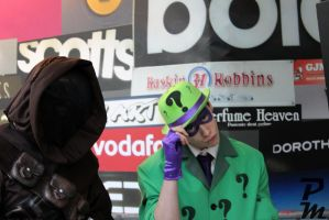 Riddler and Jawa by Peachey-Photos