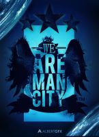We Are Man City by AlbertGFX