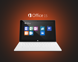 Office 15 on Surface 2 by Brebenel-Silviu