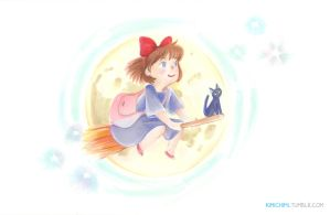 Kiki by the Moon by kimikiti