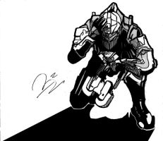 Dead Space 2 Ink by Inkletter