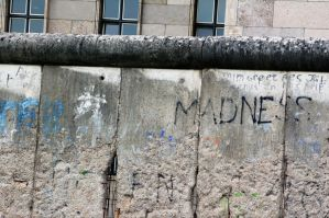 Berlin Wall HDR by johnwaymont