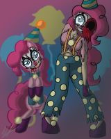 I Am The Clown With The Tear-Away Face by monakaliza