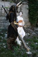 Aube and Kerrialtan 1 by Bear-Crafter