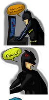 Batman 1 by MariposaAzure