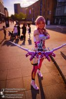 Final Fantasy XIII Serah Farron Cosplay @ London by TMProjection