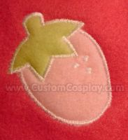 Strawberry applique by The-Cute-Storm