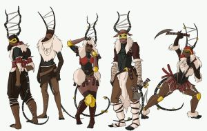 Player Characters - Herders by PeopleEveryday