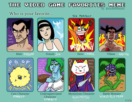 The VG Favorites Meme by Olsie