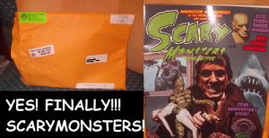 ScaryMonsters 89 Issue Has Arrived At My Door! by TMNTFAN85