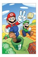 Mario Bros by Yardley