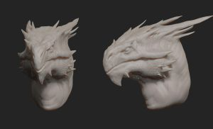 Dragon Wip by AhmedAlnaqbi