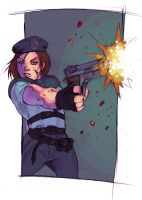 Jill Valentine by Phobos-Romulus