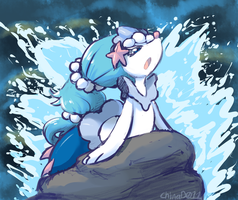 primarina on rock by the-chinad011-house