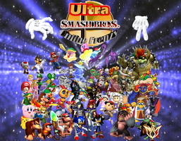 Super Smash Bros Brawl -Guess- by wildcat694