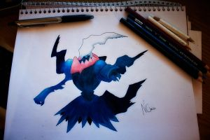 Darkrai by NChicaGFX