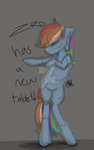 Dashie is back by datscootaloo