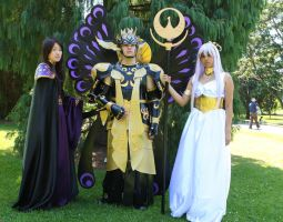 Awesome Saint Seiya group :p by Wakaleo
