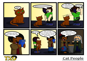 TXD: Cat People by UncleWoodstock