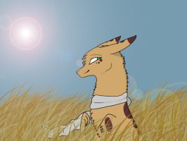 .:Wearing A Scarf on the African Savannah:. by SplitzBanana
