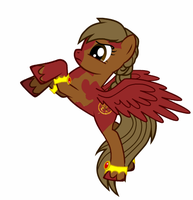 The Pony That Was On Fire by Lith-Kuran