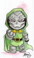 Chibi-Doom. by hedbonstudios
