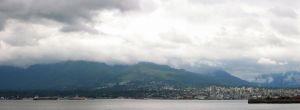 Vancouver Mountain Panorama by insomniac199