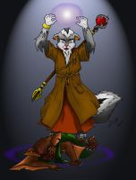 Silver Skunk Wizard by Sinatzeek