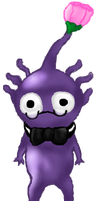 Eugene the Purple Pikmin by FloralFlower