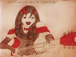 I'm A Hex Girl And I'm Gonna Put A Spell On You by WolfDagger369