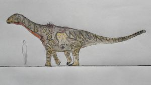 Shunosaurus lii with a funky color pattern by paleosir