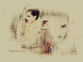 Emma Watson Vogue Blend by memorabledesign