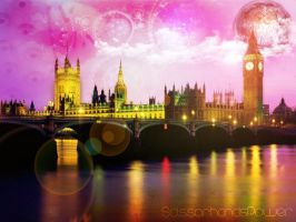 Magic Night in London by ScissorhandsPower