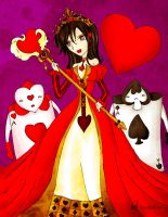 Queen of Hearts by Hoshi-Wolfgang-Hime
