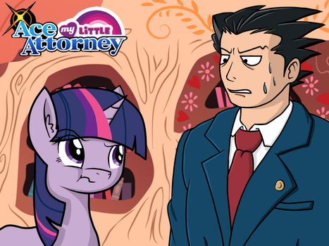 My Little Ace Attorney: Turnabout Storm by MarioKid97