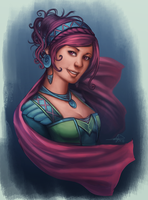 Lady by argaelie