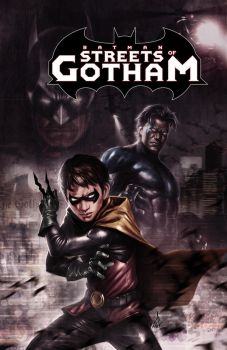 Streets of Gotham by Atzinaghy