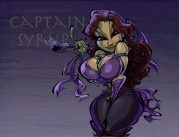 Nintendo Villains - Captain Syrup by BrendanCorris