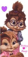 Chipettes by AlvinandRascalRock