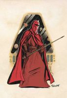 Starwars Royal Guard by ChrisFaccone
