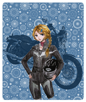 Motorbike lover by Moonlilith91